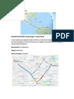 Diseño Del Plan de Ruta y Red Geográfica de Transporte