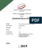 ADMINISTRACION- ACTIVIDAD Nª10