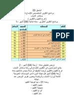 تكوين المستشارين   محمد مصيف  2010