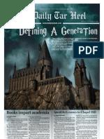 The Daily Tar Heel for November 19, 2010