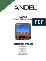 SA4550 82010-IM-J Installation Manual