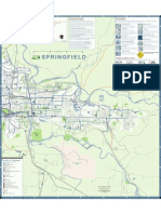 Springfield Bike Map 2010