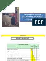 IMPLEMENTACIÓN DE COCINAS SALUDABLES PARA EL MEJORAMIENTO DE LA SALUD AMBIENTAL EN LOS ANDES