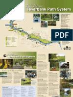 Eugene Riverbank Trail Bike Map