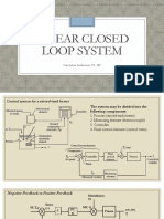Linear Closed Loop System