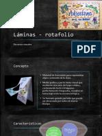 Uso de Rotafolios