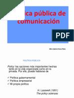 Politicas de Comunicacion