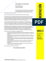 Manifiesto 10OCTUBRE2010 Pena Muerte