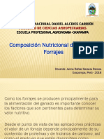 Compos. Nutricional Pastos y Forrajes