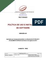 Politica Instalacion Uso Software v001