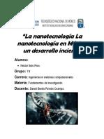 La nanotecnología La nanotecnología en México.docx