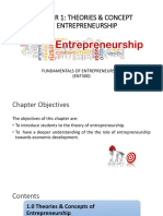C1 Theories and Concepts of Entrepreneurship