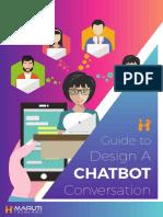 eBook Guide to Design a Chatbot Conversation