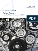 Indonesia Autos Report Q3 2019