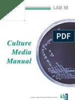 Culture Media Manual