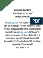 Panduan Download Surat Patuh Etik