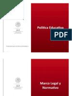 Politica educativa nuevo modelo educativo