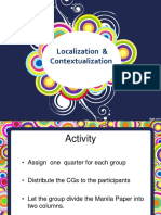 Contextualization and Location NTOT AP G10 1