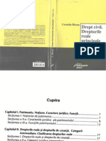 Drept civil.Drepturile reale principale - C.Bârsan - 2007