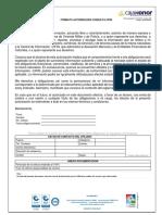 Autorización Consulta en La c i f i n