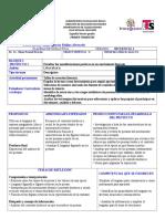 PLAN DE CLASE DE ESPAÑOL TERCER GRADO DE SECUNDARIASemana 1