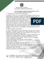 CFMV leishmaniose lvc