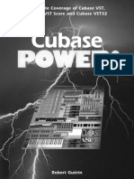 Cubase Power Complete Coverage of Cubase Vst Cubase Vst Score and Cubase Vst32