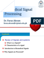 Lec 01-Introduction to Biomedical Signal Processing