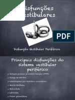 Disfunções Vestibulares-1