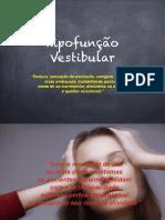 Hipofunção Vestibular-1
