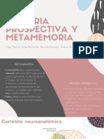 Memoria Prospectiva y Metamemoria