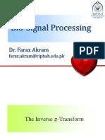 Lec 03 [BSP] Inverse Z-transform
