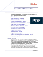 Zimbra NE Release Notes 6.0.8