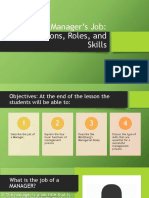 OM PPT Manager's Job Functions Roles and Skills