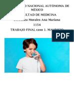 CASO CLÍNICO DE DESHIDRATACIÓN Y SINCOPE