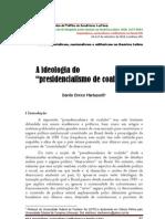 A ideologia do presidencialismo de coalizão_DaniloMartuscelli