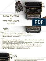 Banco Atlantico v Auditor General