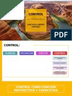 Control Administración