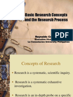 Basic Concepts of Research