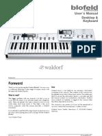 Blofeld Manual