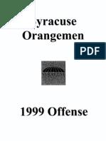 1999 Syracuse University Freeze Option - 192 Pages