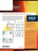 Network Diagramming | OPNET NetMapper
