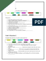 Unit 3 - Grammer & Vocabulary