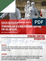 Pengendalian KLB Dan Epidemic Control