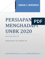 Persiapan Menghadapi Unbk 2020