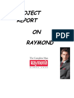 21556096 Project on Raymond