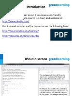 Understand R Studio