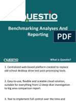 Questio - Drive test Benchmarking analyses and reporting