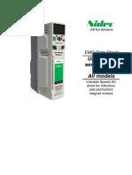 Unidrive-M Frame Size 3 EMC Data Sheet