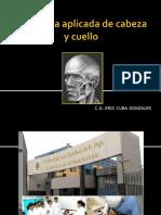 Anatomía Aplicada de Cabeza Ycuello 4 DR. CUBA